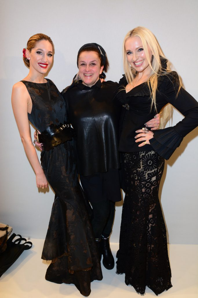 Olga Roh with Bianca Gubser and choreographer Grazia Covre