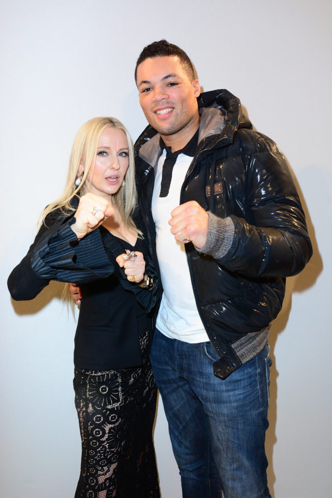 Olga Roh with Joe Joyce