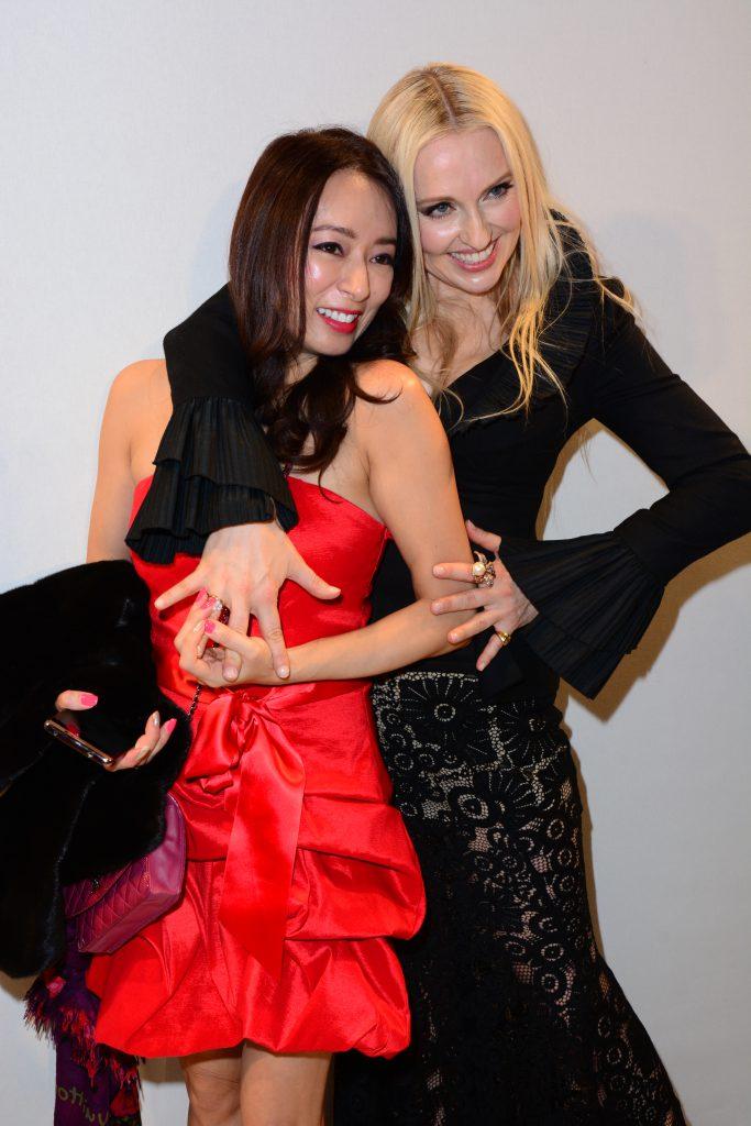 Olga Roh with Paula Mok