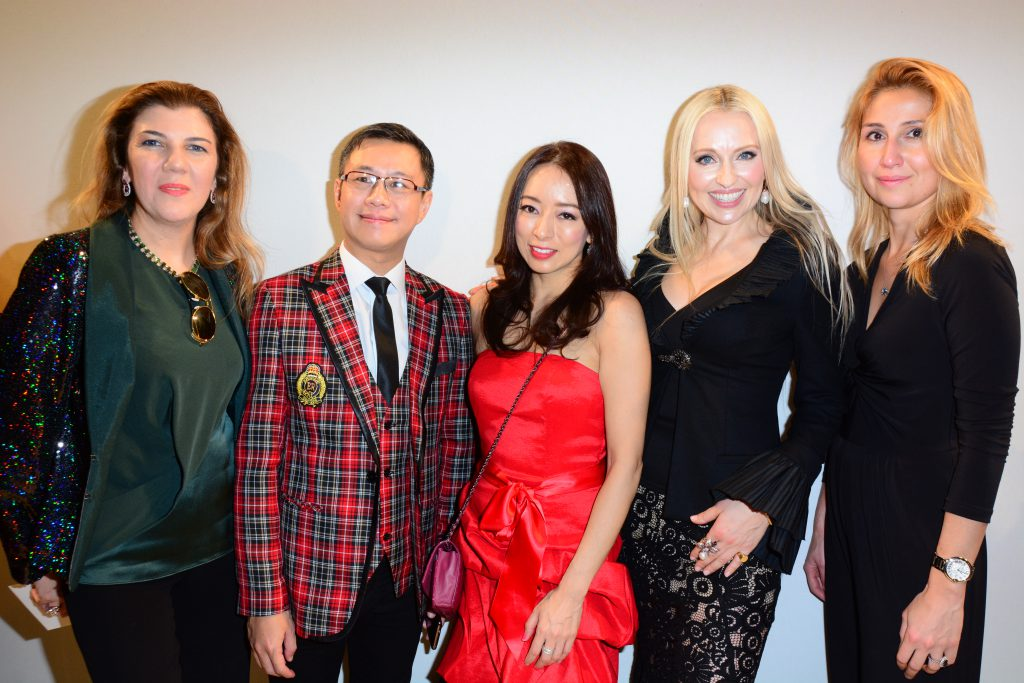 from the left to the right_ Janana Suleymanli Pasha, Pegasus Wong, Paula Mok,Olga Roh and Ayten Mirzoyeva