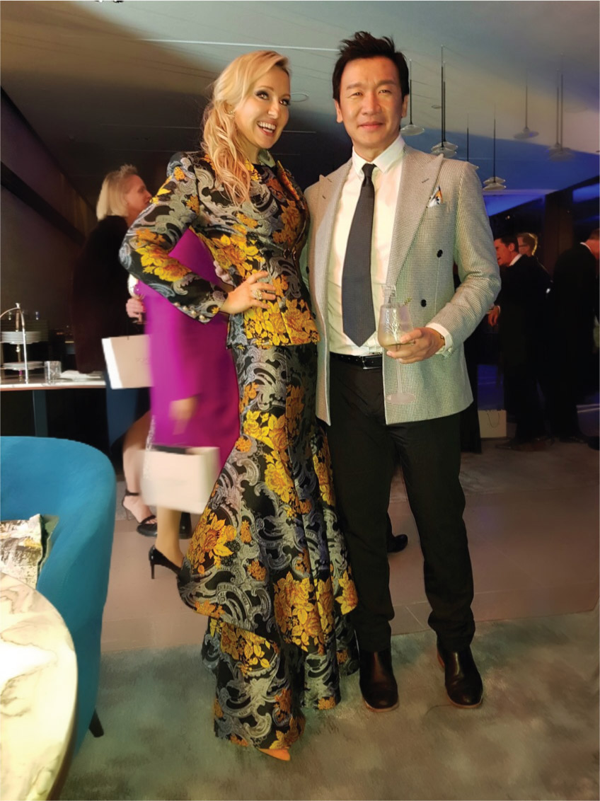 Legend-Film Aid Asia Power of Film Gala-Madam Olga and Chin Han