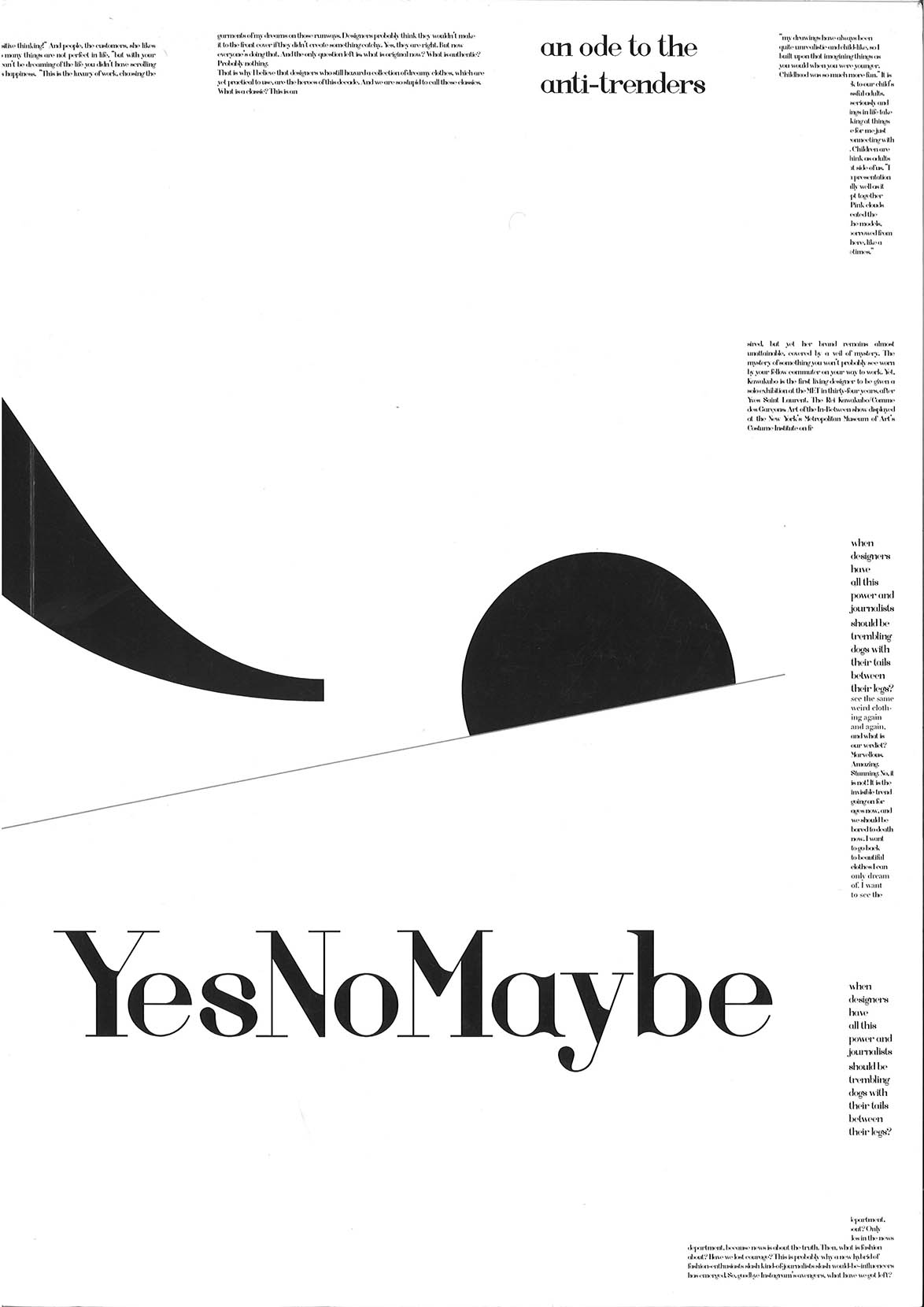 yesnomaybe vol1 cover